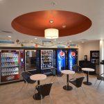 vending area hotel design project