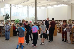 Poplar Bluff Middle School Library