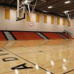 Interior FEMA Safe room, gym