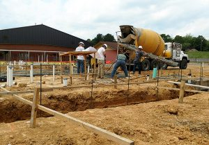 Maynard Elem footings