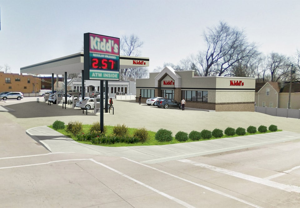 Redesign of Kidd's Gas Station and Convenience Store