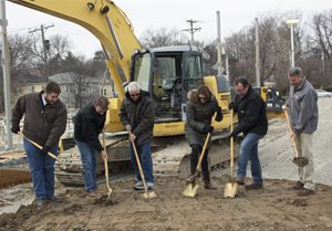 groundbreaking Kidd's convenience store