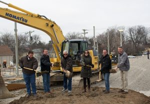 Groundbreaking for Kidd's Convenience Store