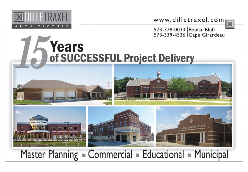 DILLE TRAXEL Architecture Celebrates 15 years Serving the Region