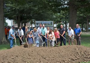 Hayti Municipal Facility groundbreaking