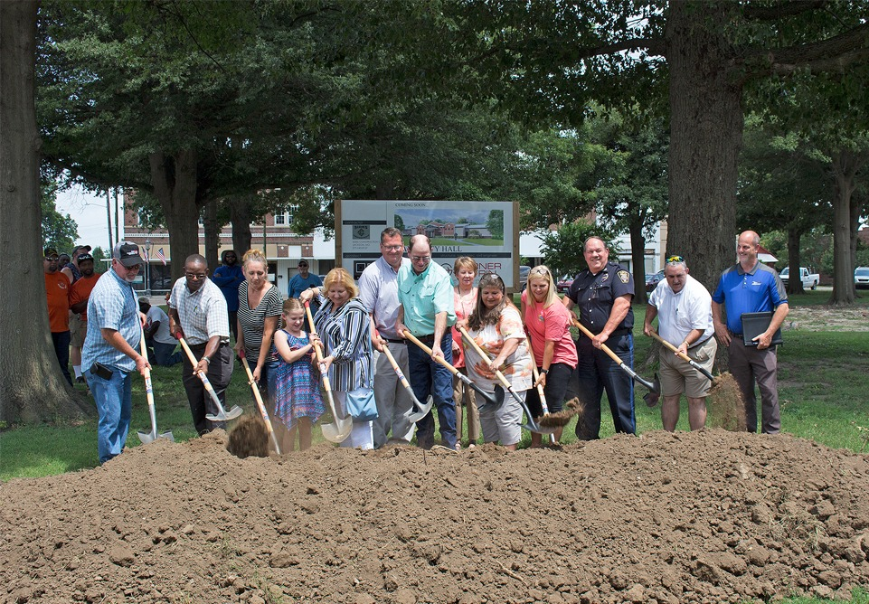 Groundbreaking Held for Hayti Municipal Facility