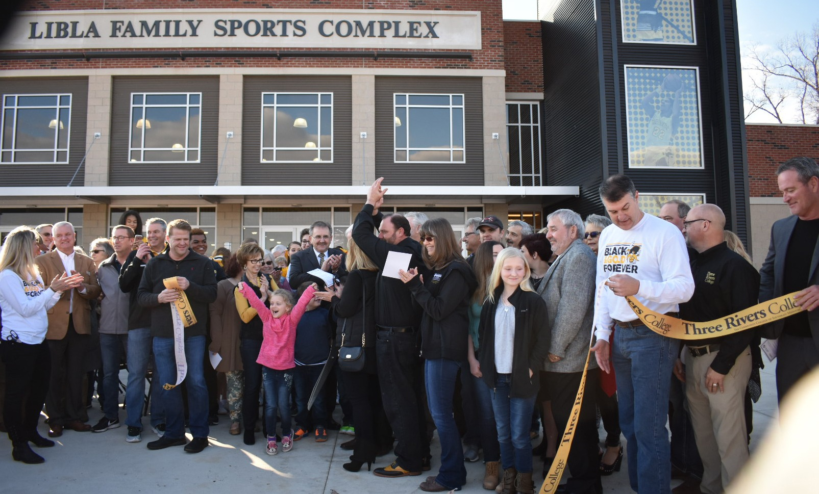 The Libla Family Sports Complex Ribbon Cutting